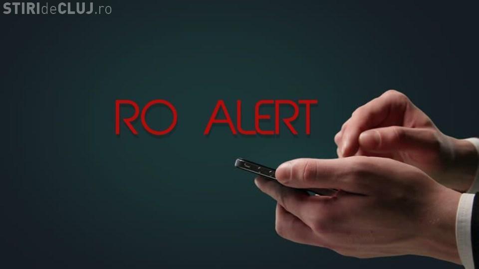 Sistemul RO-ALERT va fi testat la Cluj. Ce vei primi pe telefon