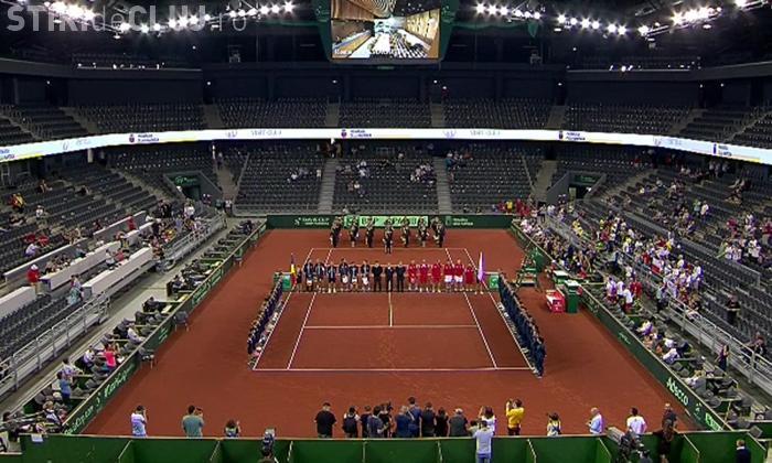 Cupa Davis la Cluj. Fără public România a pierdut duelul cu Polonia, scor 2-3