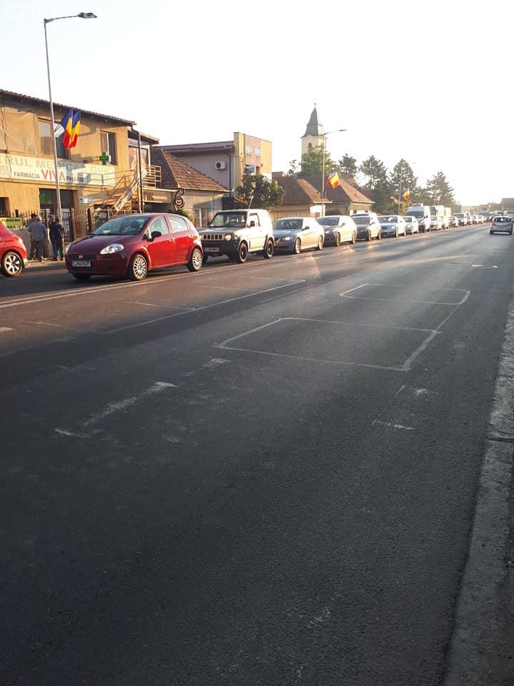 Floreștiul, blocat la ora 7:50 - FOTO