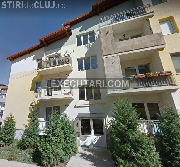 Apartament din executări lângă Cluj-Napoca: 45.000 EUR / 65 de mp. Reducere de 15% - FOTO