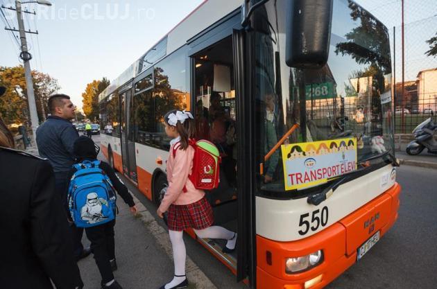 Autobuzul școlar de la Cluj se extinde la încă 5 şcoli