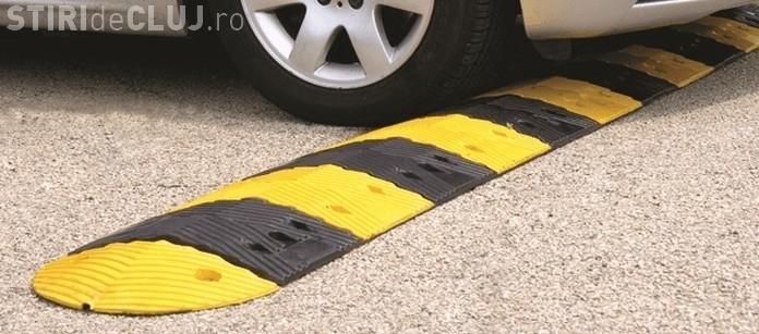 Sunt utile limitatoarele? Pe 2 străzi din Cluj-Napoca a scăzut numărul accidentelor cu 100%