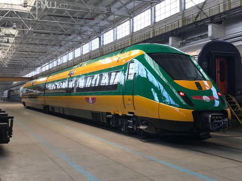 Tren de lux din Danemarca, pe ruta Cluj - Oradea. În Danemarca, ar fi fost casat, fiind NESIGUR