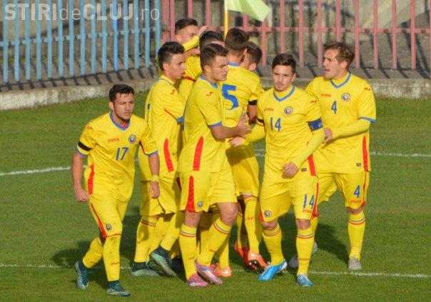 Incident grav la naționala României U19. Un jucător e acuzat de furt și a fost exclus din lot