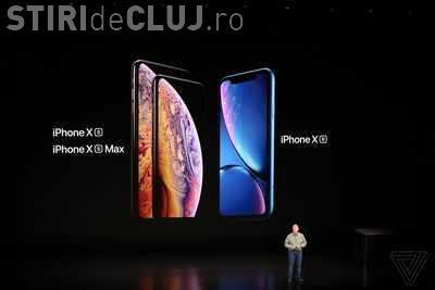 """Apple a lansat oficial noua gamă de iPhone X. Există și o variantă """"ieftină"""""""