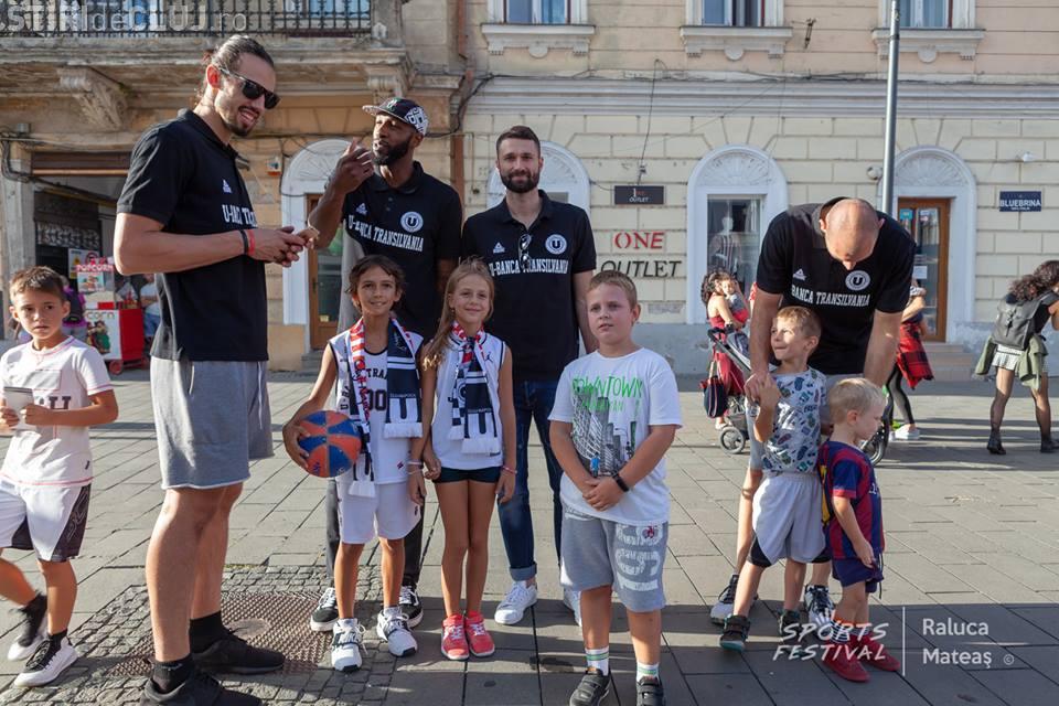 SportsFestival Cluj / Vlad Moldoveanu, U-BT Cluj-Napoca, vrea sala plină la meciul cu Panathinaikos - VIDEO