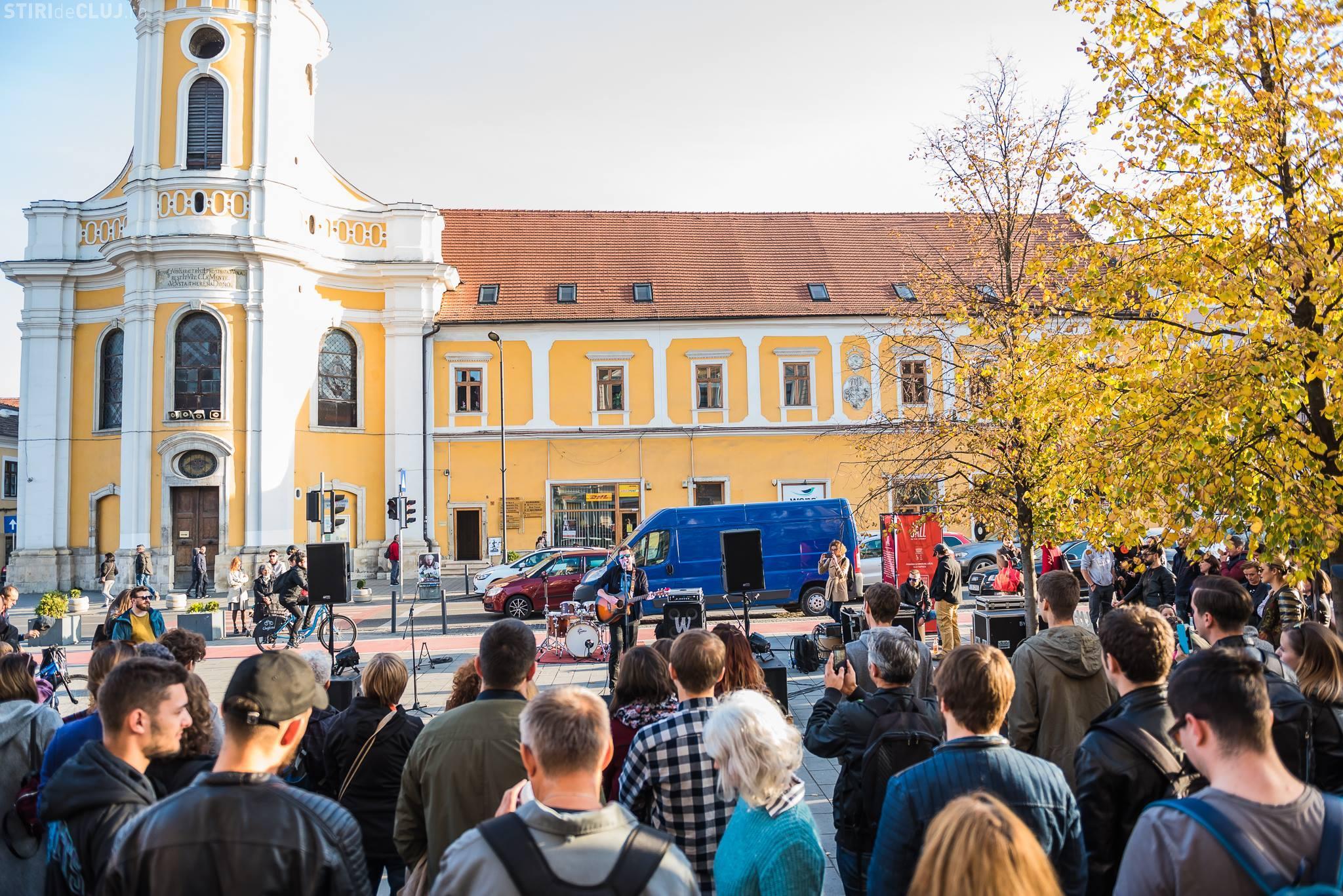 O nouă serie de concerte în stradă, la Cluj, la Jazz in the Stret. Vezi programul evenimentelor