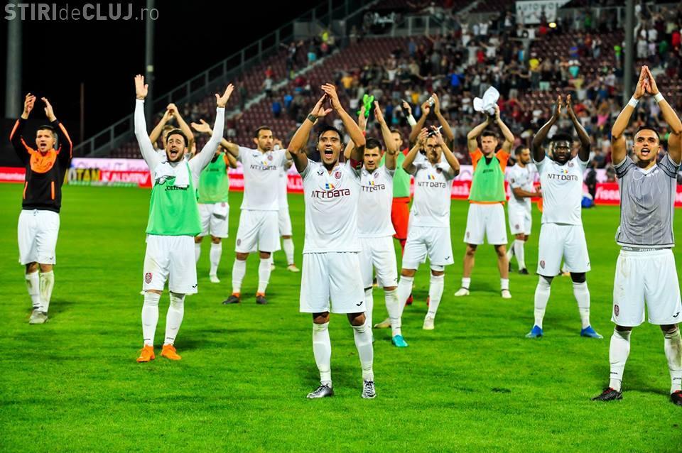 CFR Cluj - Dudelange / 2-3. Umilință maximă - REZUMAT VIDEO