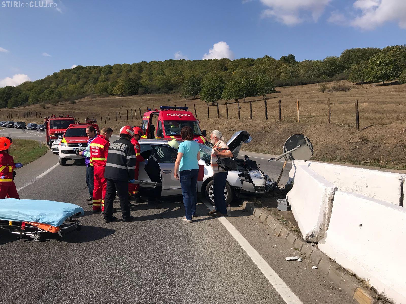 Autoaccidentare pe centura Apahida! Patru persoane sunt rănite - FOTO