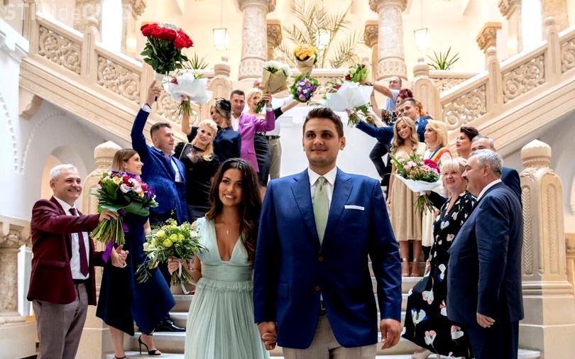 Cine sunt clujenii care au fost la nunta lui Dragnea Jr.