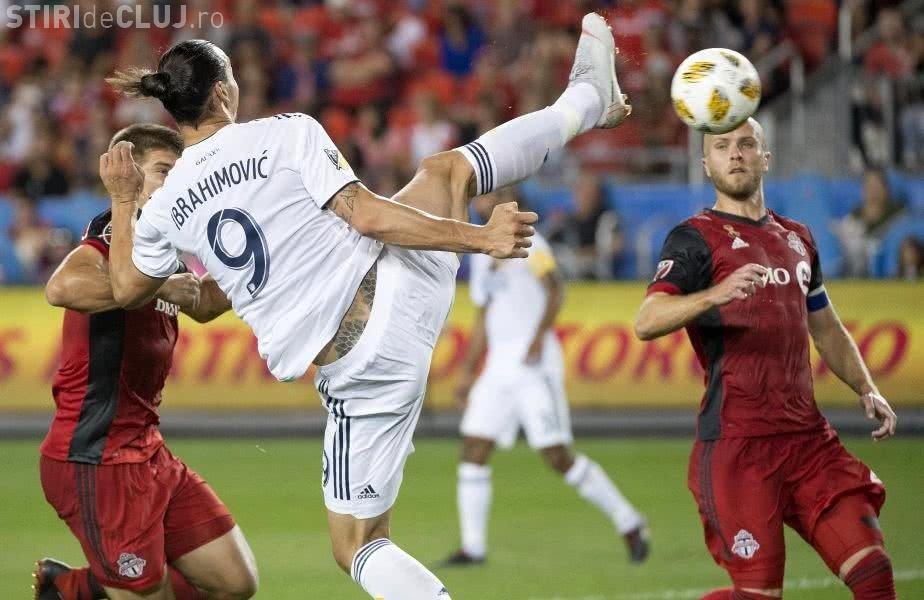 Zlatan a reușit un gol de generic. E golul cu numărul 500 din carieră - VIDEO