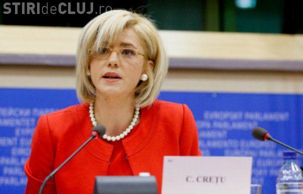 Comisarul Corina Creţu la Cluj: Sper să construim Spitalul regional de urgență Cluj de la finele anului 2019