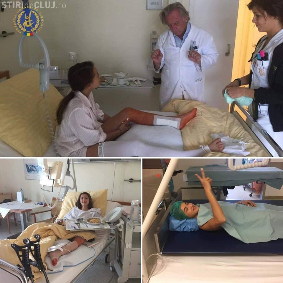 Larisa Iordache, operată pentru a treia oară