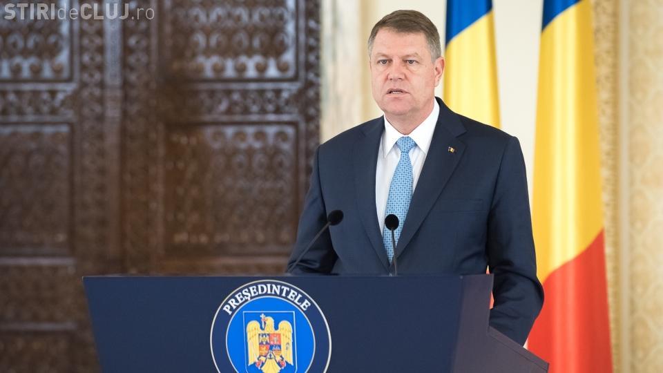 Klaus Iohannis anunţă a suspendat ședința CSAT pentru emiterea avizului pe rectificare
