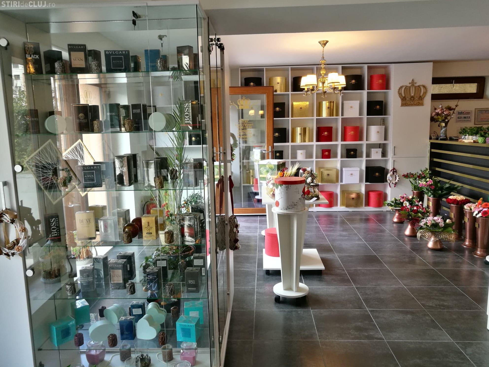 S-a deschis primul boutique de cadouri din Cluj, King Of Roses Boutique FOTO