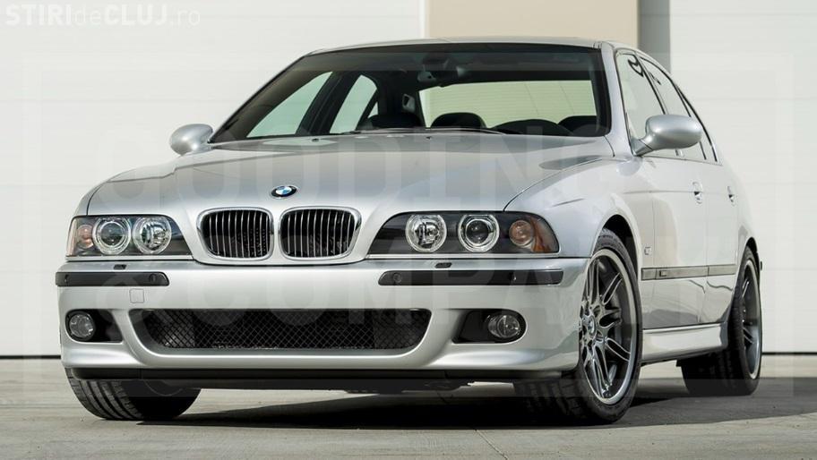 BMW M5 din 2002, cu 700 de km la bord, vândut pe o AVERE - FOTO