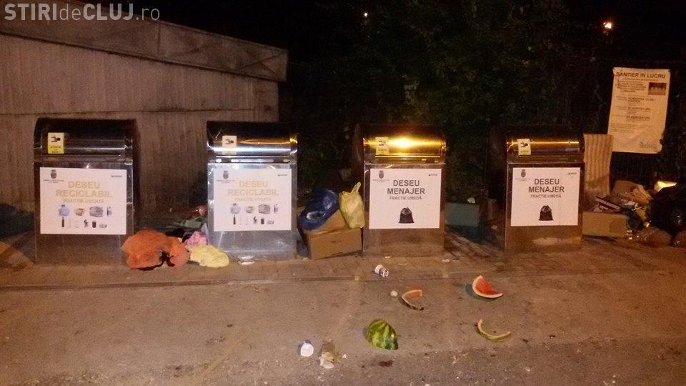 Cluj: Cum arată noile containere îngropate din Grigorescu: Când ne civilizăm? - FOTO