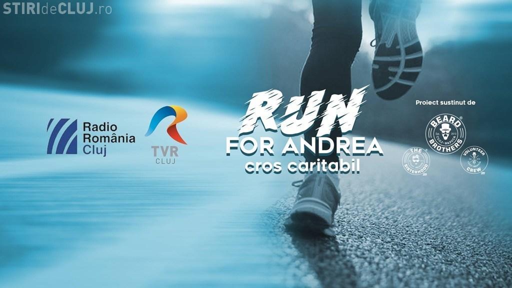 """Radio Cluj și Asociaţia Beard Brothers organizează crosul caritabil """"Run for Andrea!"""""""
