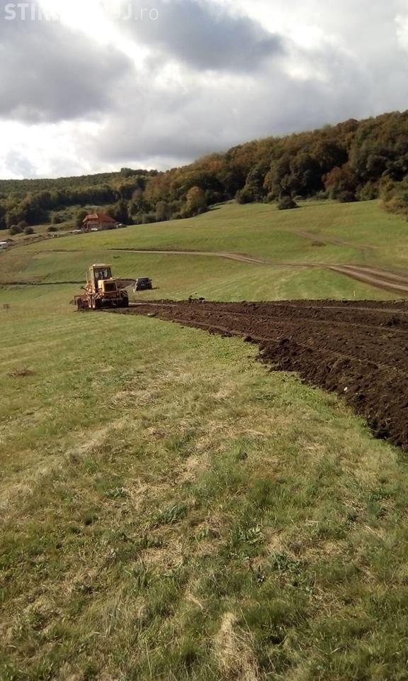 Comuna Baciu a demarat construcția mini-centurii din cartierul Tineretului spre Valea Seacă - FOTO