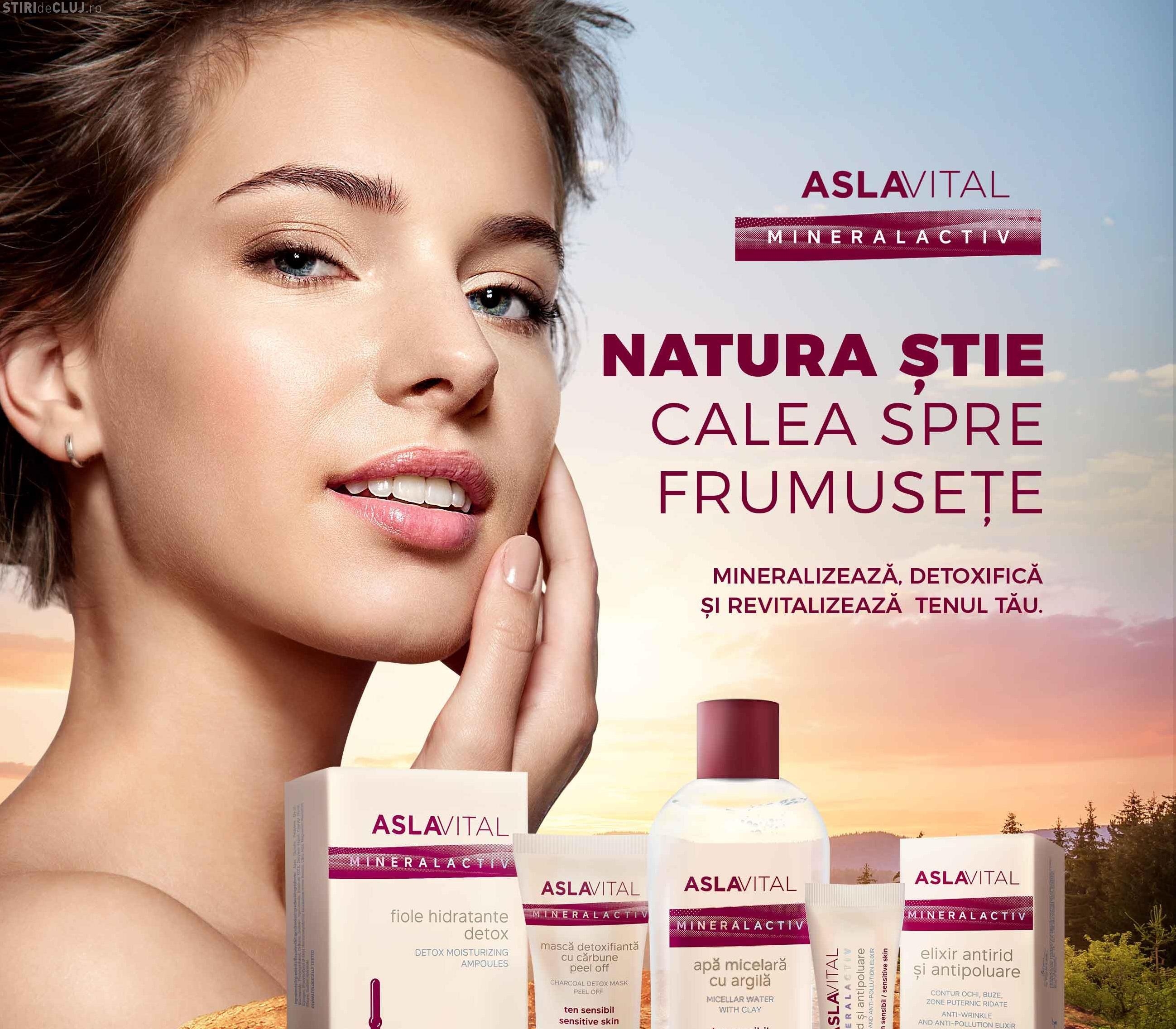 Farmec dezvoltă Aslavital, un brand unic pe piața locală, prin modernizarea gamei Aslavital Mineralactiv (P)