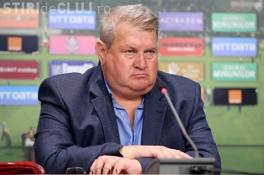 Iuliu Mureșan a refuzat funcția propusă de patronul CFR Cluj