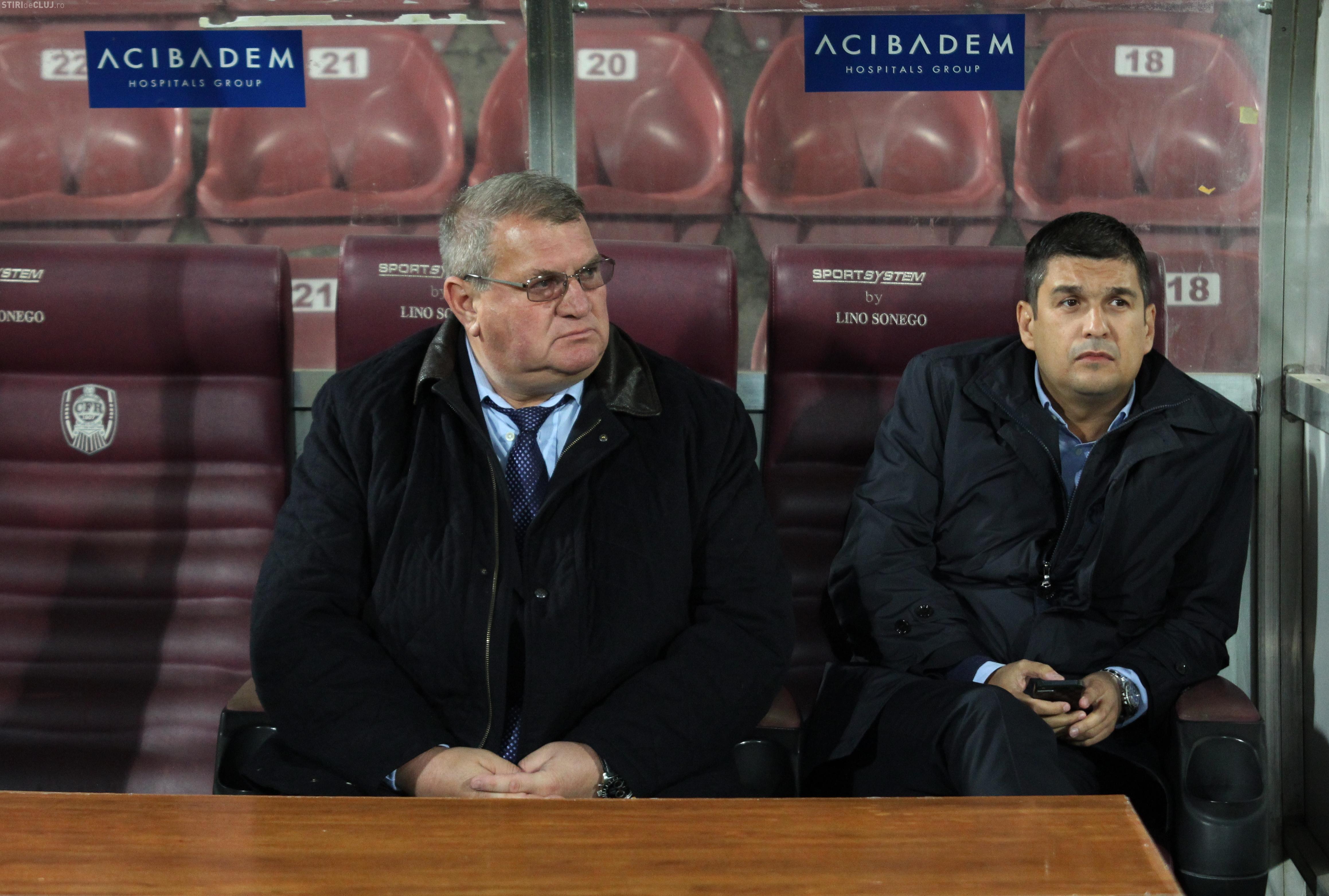 """ȘOC la CFR Cluj: """"L-au dat afară? Aiurea în tramvai, dacă au făcut asta. Să nu se mai aştepte la rezultate"""""""