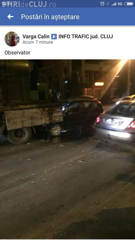 Șoferul din Alba care a cauzat accidentul din Observator era RUPT de beat la volan