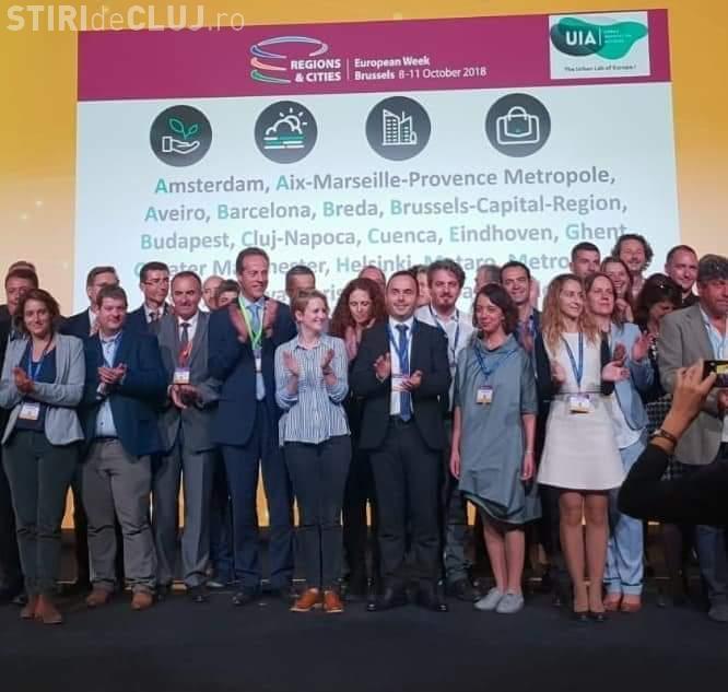 Clujul a câștigat o finanțare de 5,6 mil Euro pentru pregătirea orașului pentru locurile de muncă ale viitorului
