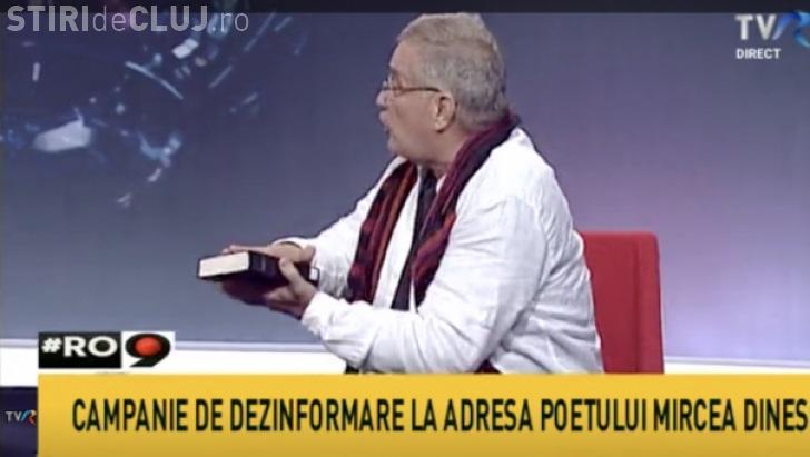 Mircea Dinescu a jurat pe Biblie că nu e consilierul lui Dragnea