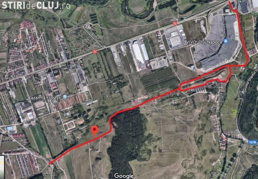 Florești: Drum paralel cu DN1 va fi adus la nivel de macadam cu rășină de legătură