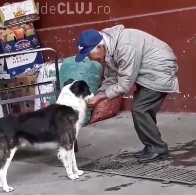 Bunătatea unui om simplu. E lecție pentru mulți dintre noi - VIDEO