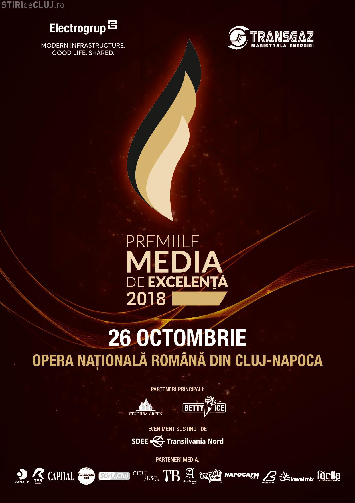 """Excelența e premiată la Cluj-Napoca și în 2018! Are loc o ediție aniversară a """"Premiilor de Excelență"""""""