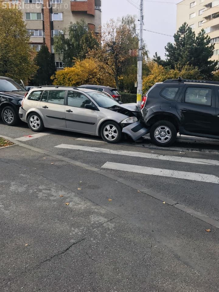 Adevărul despre accident în lanț în Gheorgheni, de lângă Interservisan - FOTO