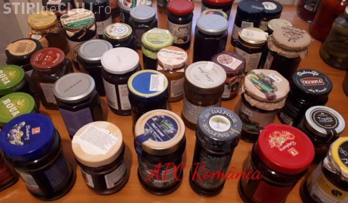 Gemuri şi dulceţuri în comerț: Urme de fructe şi chimicale