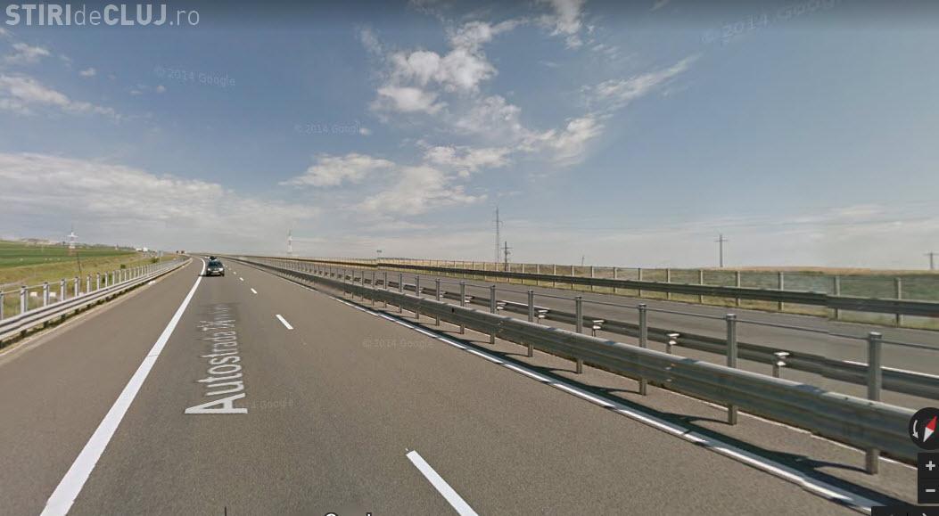 Șofer mort pe Autostrada Transilvania. A căzut de pe un viaduct la Săndulești