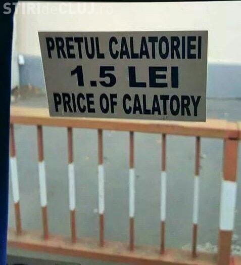 """Engleză a la Ion Iliescu sau Dăncilă: """"Price of calatory"""" - FOTO"""