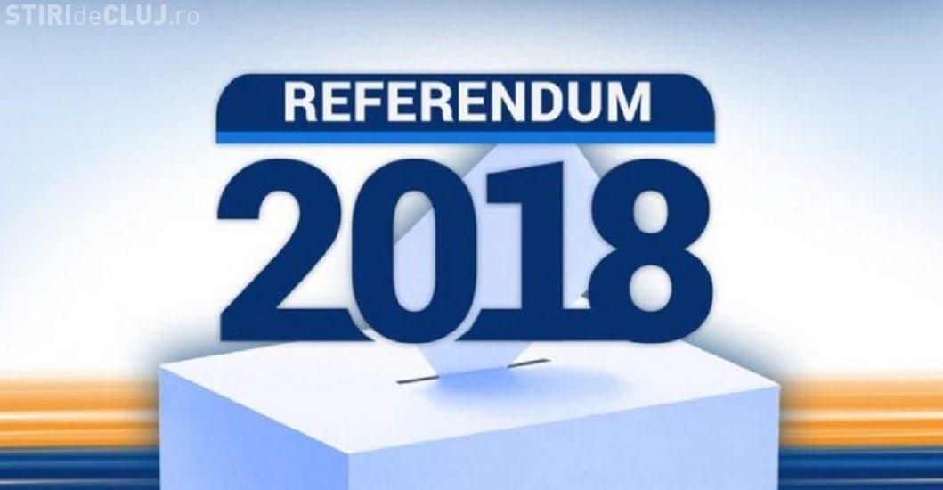 """Referendum 2018: Câți clujeni au VOTAT """"DA"""" și câți au pus ștampila pe """"NU"""""""