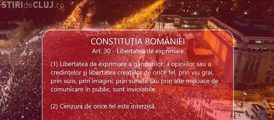 Clujenii ies în stradă luni, 15 octombrie, după ce mitingurile nedeclarate au fost interzise