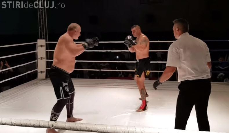 Scenă ȘOCANTĂ la meciul Tolea Ciumac - Andrei Raita. Și-a rupt tibia pe loc - VIDEO