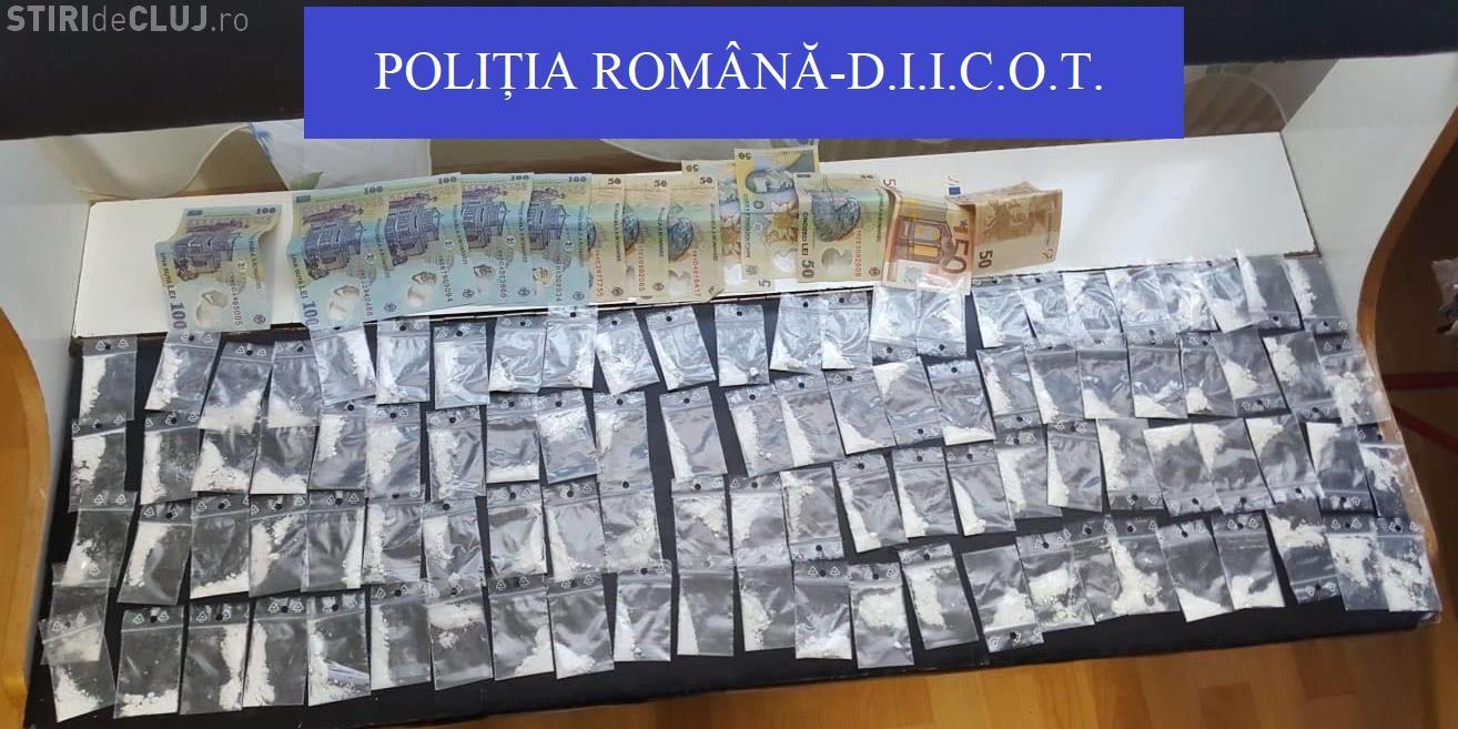 CLUJ: Percheziții de amploare la traficanți de droguri. Șase persoane au fost arestate FOTO