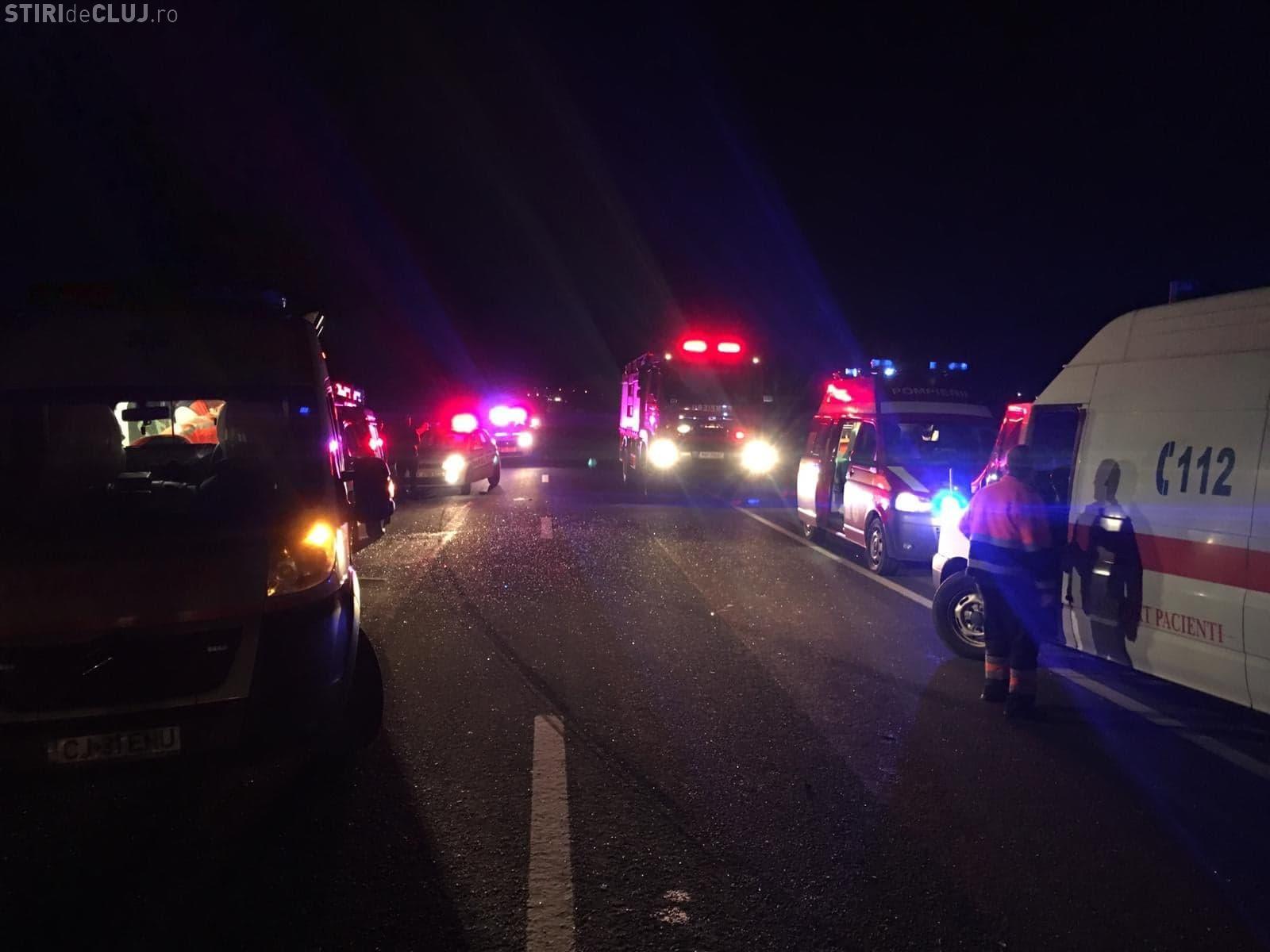 Șoferul care a cauzat accidentul de pe drumul Cluj-Gherla s-a SINUCIS. A fost găsit spânzurat