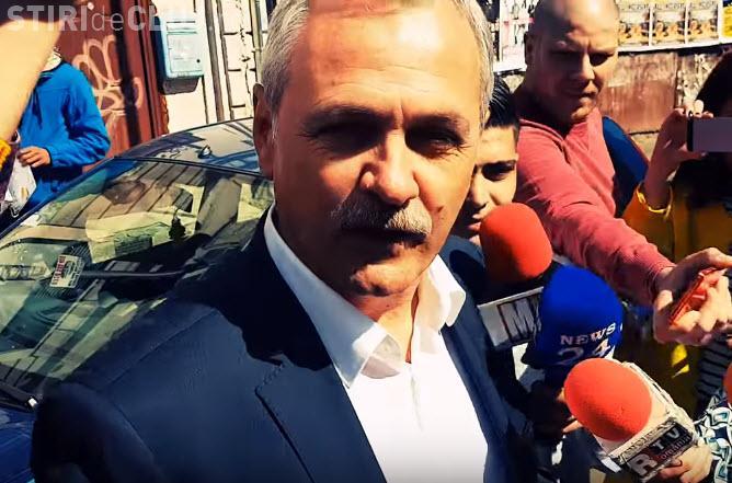 """Ce reacție are Liviu Dragnea la gafa Vioricăi Dăncilă despre """"protestanți"""""""