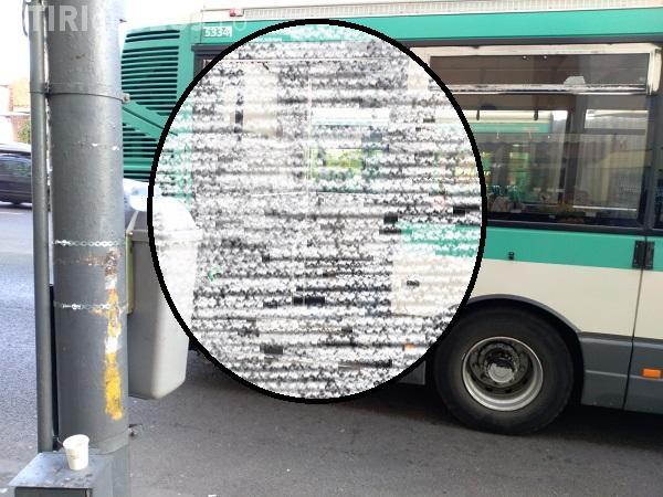 """Cum arată un autobuz în """"orașul de 5 stele""""! I-a picat ușa în interior FOTO"""