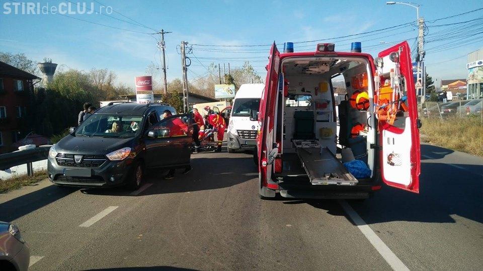 Un pompier clujean, aflat în timpul liber, a salvat un scuterist în urma unui accident. Ieșise dintr-o tură de 24 de ore FOTO