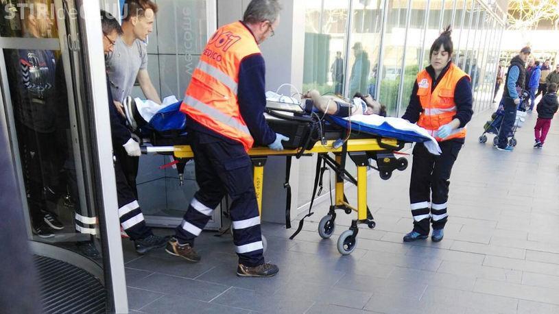 Fost jucător al CFR Cluj a căzut de la etajul 3 al unui hotel. Nu mai poate juca fotbal