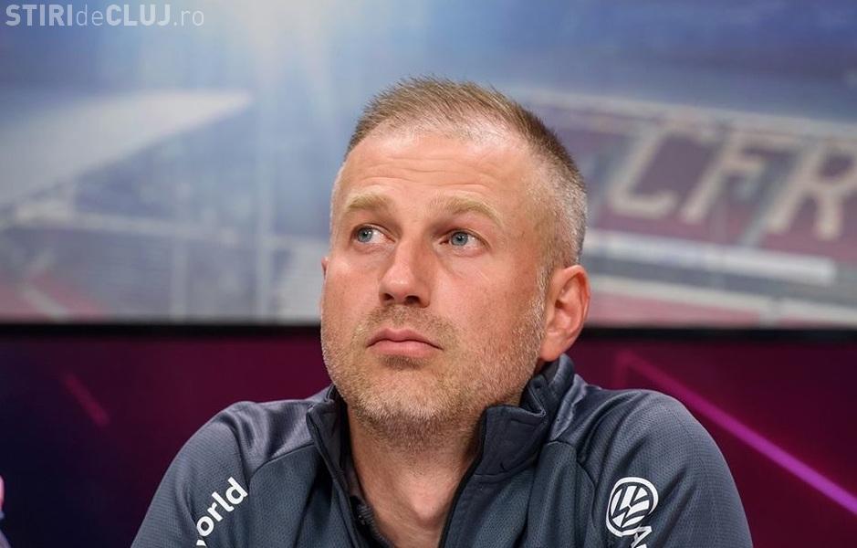 Edi Iordănescu regretă că a venit la CFR Cluj