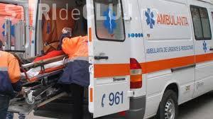 Accident grav pe un drum din Cluj. Un șofer a ajuns la spital după ce a pierdut controlul mașinii într-o curbă