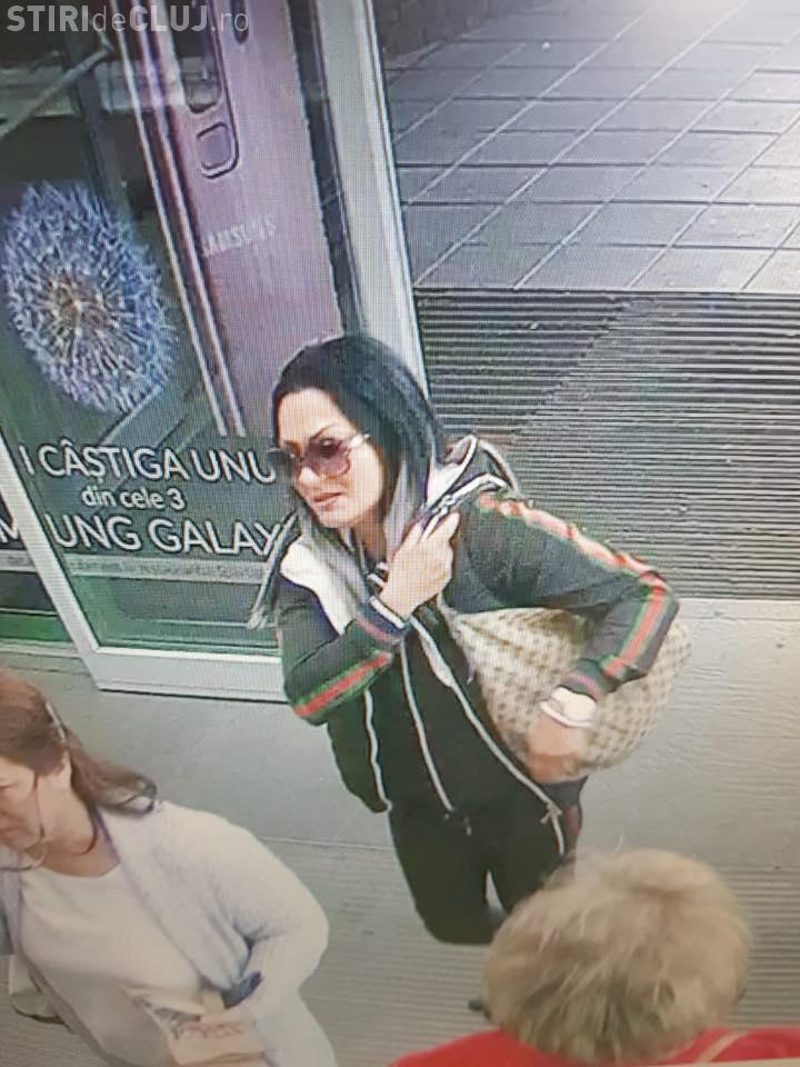 Hoață de la Vivo Cluj căutată pentru mai multe furturi - FOTO