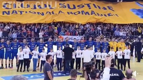 """Înfrângere categorică pentru naționala de handbal a României, la Cluj. Au fost """"decimați"""" de francezi"""