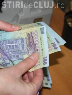 Salariile clujenilor au scazut in medie cu 1,8% intr-un an